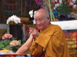 Gyumed Khensur Rinpoche Losang Jampa, March 2010